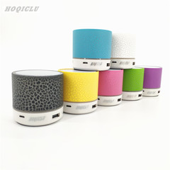 Wireless Bluetooth Mini portable Subwoofer speaker outdoor  rechargeable Colorful LED black 3w A9