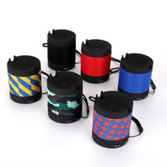 Wireless Bluetooth ABS Mini Speaker Outdoor Portable Subwoofer Sound With Mic TF black 3w slc-071