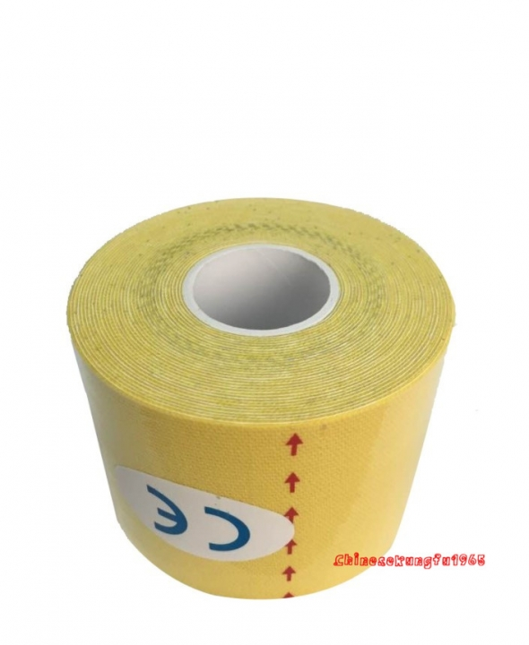 25mmx5m Perform Tex Kinesio Tape Kinesiology Sports Muscles Care Hypoallergenic yellow