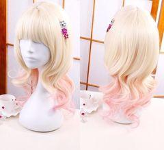 Japan Anime DIABOLIK LOVERS Wig Komori Yui Costume Accesorry as pic Size: 45cm (17.7'')
