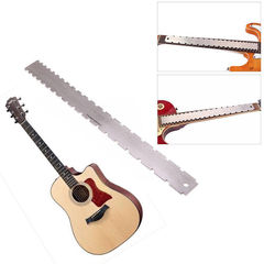 Guitar NECK Notched Straight Luthiers HOT Fingerboard Fretboard Edge Ruler TOOLS