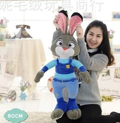 Zootopia-Plush-Dolls Bunny Rabbit Officer Judy Huge 33'' as pic 85cm(33'')