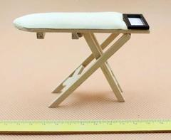 dollhouse miniatures toy furniture 1:12 Iron Ironing Board Table Handcrafted Handmade plain L10 x W2.8 x H6.5cm  (3.9