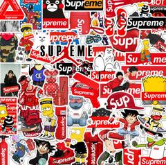 50 RANDOM Stickers pack supreme Lot More Than You Seen, No Duplicates colored 4~6cm