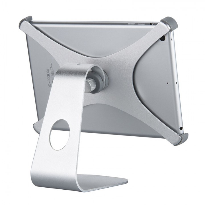 """360° Rotatable Aluminum Desktop Holder Table Stand for iPad or Other 7.9"""" Tablet"""