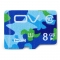 OV Micro SDHC Memory Card Camouflage Version Class 6 with 40MB/s Reading Speed 12MB/s Writing Speed 8G Class 6 Colorful