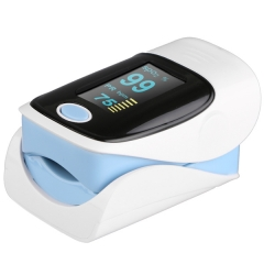RZ001 Fingertip Pulse Oximeter SpO2 Rate Oxygen Monitor with 4 Directions Display / Low Power Indication as the picture one size