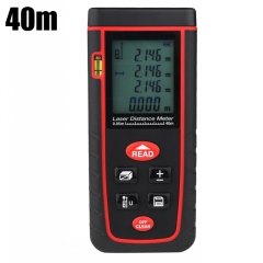 RZ RZ - S40 Handheld Range Finder Laser Distance Meter Tester 40m as the picture one size