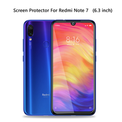 Tempered Glass for Xiaomi Redmi Note 7 Pro Screen Protector Protective Glass (6.3