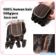 100% human Hair wigs ladies Curly hair Black  women wigs Hair Weaves middle middle part 8 inch free 4*4