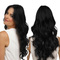 Premium Black wigs long curly hair women wigs hair wigs for ladies get 1pcs hairnet gift black 25inch
