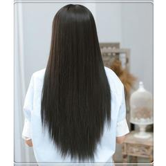 Premium Black Wigs straight long Synthetic wigs Hair for women wigs hair ladies synthetic hair black 25 inch