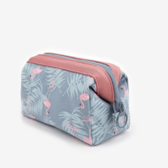 Flamingo cosmetic bags women bags flamingo bags of girls Portable cosmetic bags
