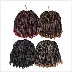 Premium Dreadlocks Dirty braids for Africa black women wigs short hair synthesis Dreadlocks hair 1B# 8 inch