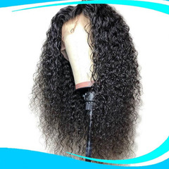 Premium lace front wigs curly hair black women synthetic wigs long curly frontals wigs for ladies black 10 inch
