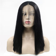 lace front long straight wigs