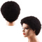 Premium African roll 5 inches short human wigs hair for women short curly wigs human hair for ladies natural black 5 inches(8-11cm)