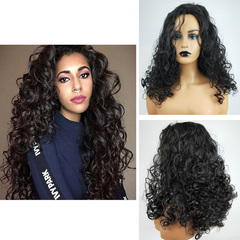 25 inches Premium Curly Wigs Hair Women Wigs Long Curly Hair Wigs for Ladies synthetic hair black 25inch
