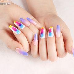 Premium Diy Nails Art 100pcs/box France ABS Nail Extensions Ladies Fake Nails Women Nail & Tools natural color