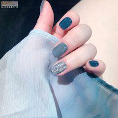 Premium Diy Nails Art 100pcs/box Rectangle ABS Nail Extensions Ladies Fake Nails Women Nail & Tools Transparent color