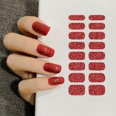 Premium Nail Stickers Many Colors Women Nail Tools Diy Nails Art Girls Nails Polish Stickers A33