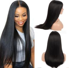 Premium Wigs Straight Long Hair Wigs for Women Long Hair Synthetic Hair Long Wigs Hair Ladies black 27inch
