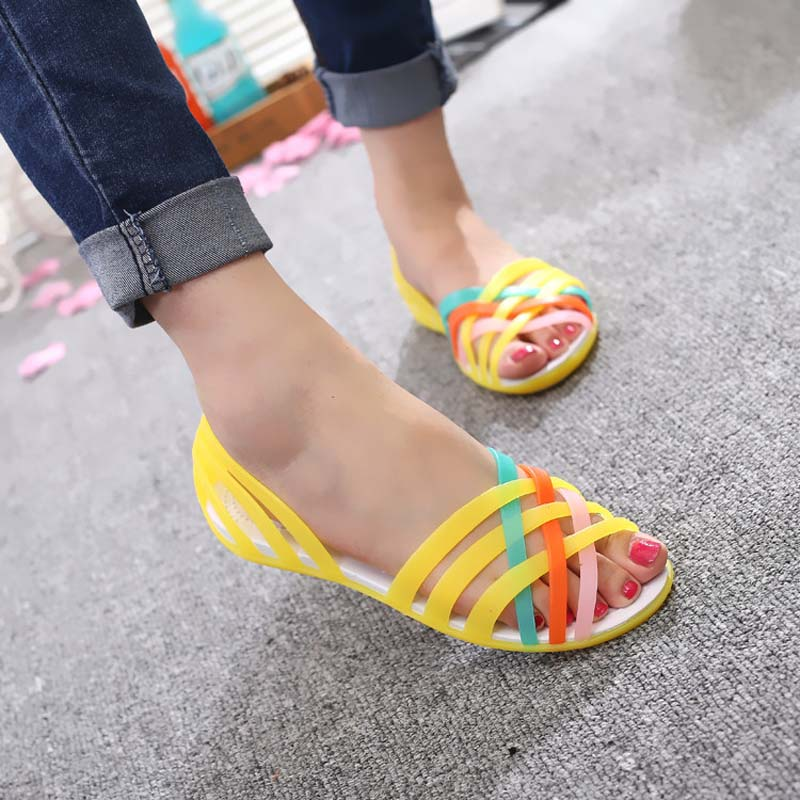 d9897e353 ... Flat Bottom Hole Shoes for Women Beach Jelly Sandals for Students  yellow 40  Product No  10964539. Item specifics  Seller SKU gjnx05y40   Brand