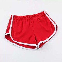 Sports shorts female south Korean summer sleeping pants family running fitness yoga pants red one size