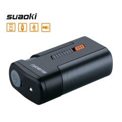 suaoki Multi-Function Power Bank with Fire Starter for Outdoor Activities