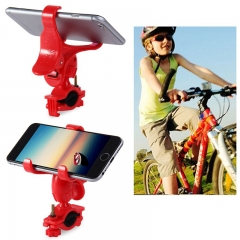 Bicycle Phone GPS Holder Bike Handlebar Cellphone Camera Mount Ourdoor Cycling Necessary Red 26*15*6 CM