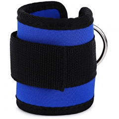 1 Piece Ankle Protective Strap for Fitness Exercise Strength Training Blue One size