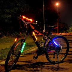 Outdoor  Night Riding Camping Practical Bicycle Cycling LED Light Caution / Safe Tail Lamp Red