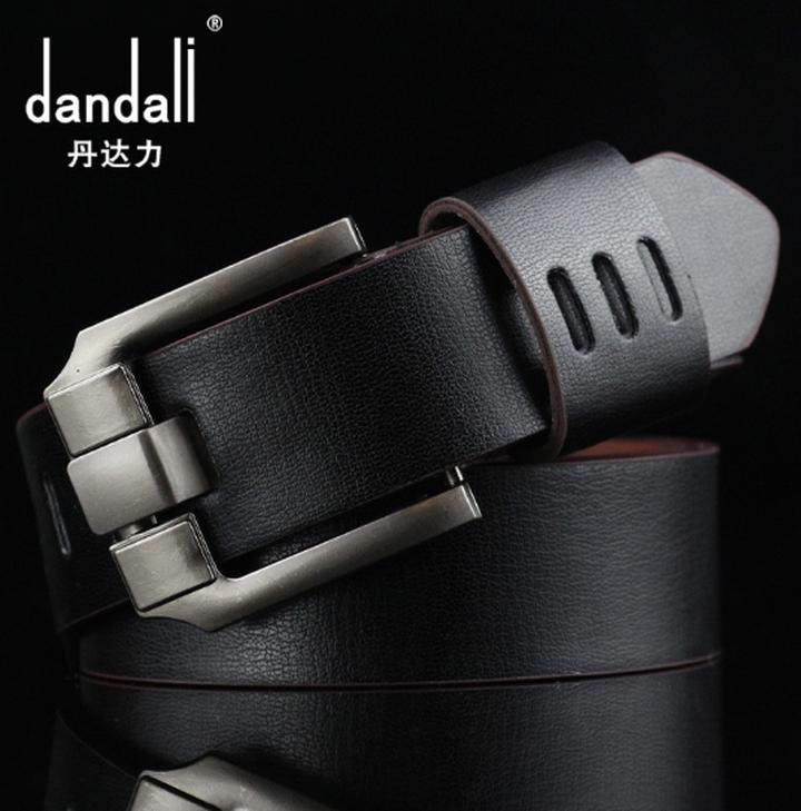 High quality men's genuine leather belt belts men luxury strap male belts for men fashion pin buckle black one size