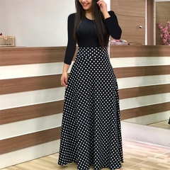 2019 hot style promotion, sale snap up, women's dresses, sexy long dresses, short sleeved dresses l black