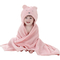 Cute Animal Cartoon Baby Kid's Hooded Bathrobe