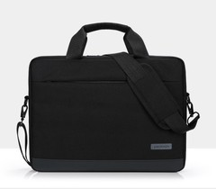 Laptop, business laptop bag for men and women black 14 inch