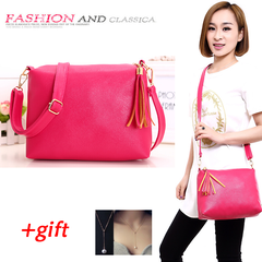Fashion big bag Ladies Handbag Shoulder Sling Bag Beg Travel Women Bags pink one size