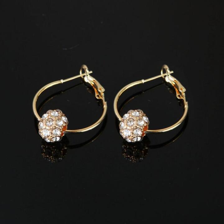 Lucky jewelry earring ear jewelry white one size