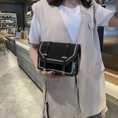 [Product video viewing] Fashion lady shoulder bag black one size