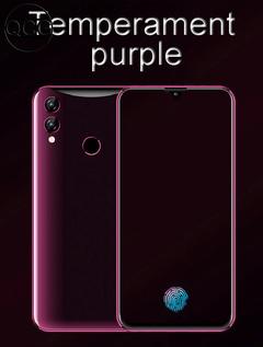 QCG new Phone 6.3inch 8G+128G 26MP+8MP 9800mAh Face&Fingerprint&Screen unlocking Dual SIM Smartphone temperament purple