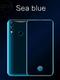 QCG new Phone 6.3inch 8G+128G 26MP+8MP 9800mAh Face&Fingerprint&Screen unlocking Dual SIM Smartphone sea blue