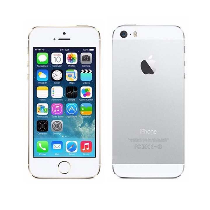 iPHONE 5s 16GB 4 inches 1GB ram 1.2MP+8MP Unlocked Smartphone Mobile no fingerprint silver
