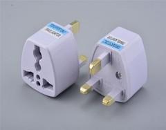 UK Standard Plug Travel universal Wall Charge Socket Power Plug Attaching Plug Adapter UK PLUG one color