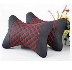 Car waist electric massage pillow car waist pillow car black little