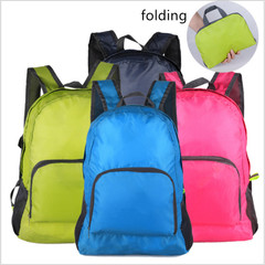 Outdoor Bags Men and Women Backpack Lightweight Durable Large Capacity Travel Bag pink one size