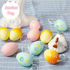 10Pcs/set Creative Hatching Growing Simulated Mini Eggs Magic Children Kids Toy Gifts for Easter multicolor one size