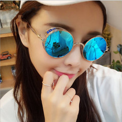 Unisex Gothic Steampunk Sunglasses Men Women Metal Wrap Eyeglasses Punk Fashion Round Sunglasses silver one size