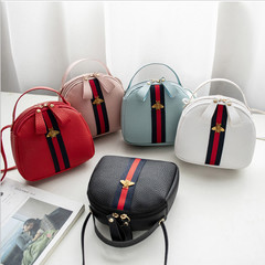 New Women's Bag Lychee Pattern Mini Bag Shoulder Bag Messenger Bag Mobile Phone Bag Crossbody Bag black one size