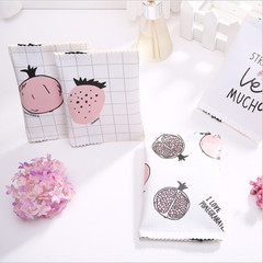 Cute Fruit Pattern Small Purse Coin Bag Key Bag Creative Macarons Hand Bag random color one size