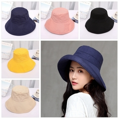 Women Summer Bucket Hat Foldable Hunting Fishing Fisherman Outdoor Cap pink